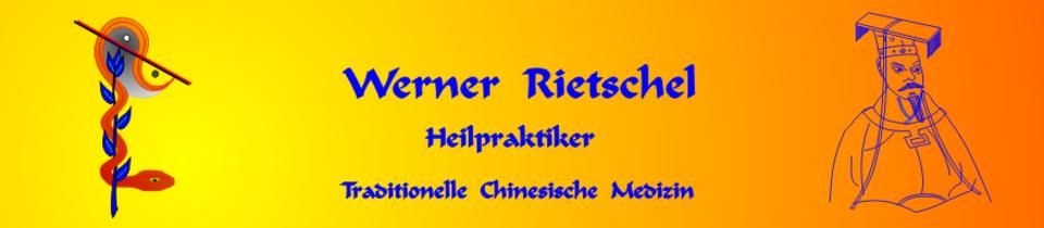 TCM Lindau. Heilpraktiker Werner Rietschel. Traditionelle Chinesische Medizin, Akupunktur.